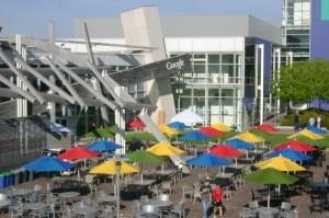 Google Zentrale in Kalifornien